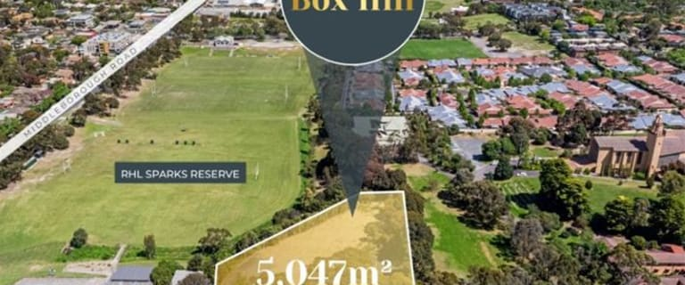 Development / Land commercial property for sale at 110 Albion Road Box Hill VIC 3128