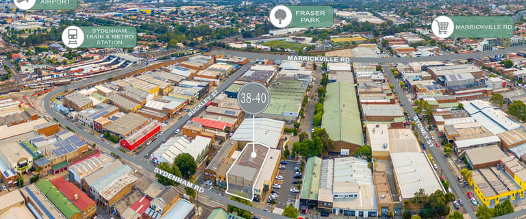 Factory, Warehouse & Industrial commercial property for sale at 38-40 Sydenham Road Marrickville NSW 2204