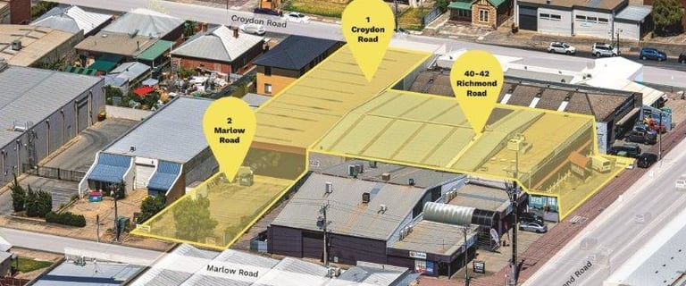 Industrial / Warehouse commercial property for sale at 40-42 Richmond Rd, 1 Croydon Rd & 2 Marlow Rd Keswick SA 5035