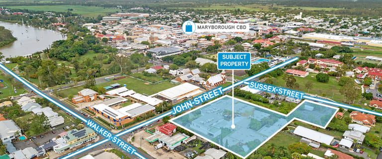 Medical / Consulting commercial property for sale at 172-178 John Street Maryborough QLD 4650