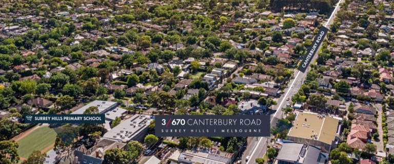 Offices commercial property for sale at Suite 3, 670 Canterbury Road Surrey Hills VIC 3127