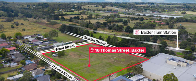 Development / Land commercial property for sale at 18 Thomas Street Baxter VIC 3911