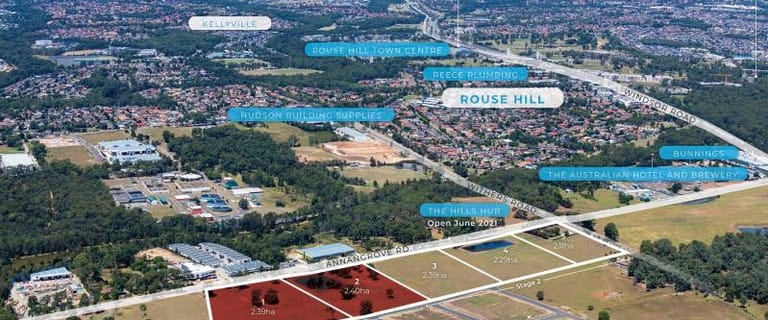 Development / Land commercial property for sale at 1 & 2/273-283 Annangrove Road Rouse Hill NSW 2155