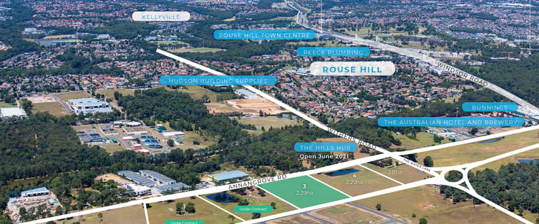 Development / Land commercial property for sale at Lots 1-5/273-283 Annangrove Road Rouse Hill NSW 2155