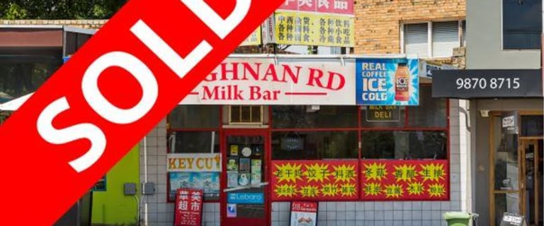 Retail commercial property sold at 93 Loughnan Road Ringwood VIC 3134