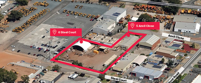 Industrial / Warehouse commercial property for sale at 5 Anvil Close & 6 Steel Court South Guildford WA 6055