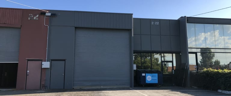 Industrial / Warehouse commercial property for sale at 2/22 London Drive Bayswater VIC 3153