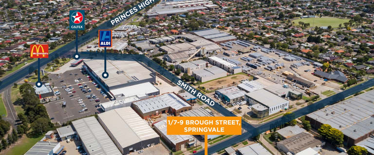 Industrial / Warehouse commercial property for sale at 1/7-9 Brough Street Springvale VIC 3171