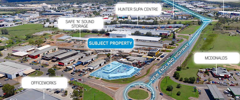 Shop & Retail commercial property for sale at 323 New England Highway Rutherford NSW 2320