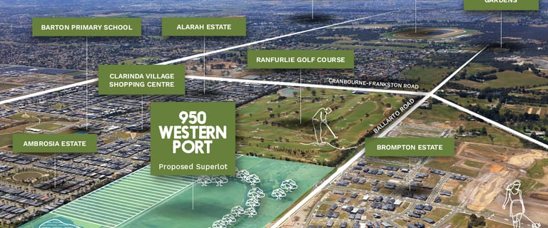 Development / Land commercial property for sale at 950 Western Port Highway Cranbourne West VIC 3977