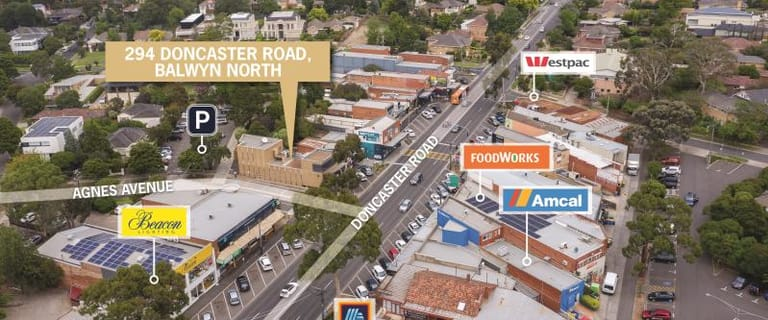 Shop & Retail commercial property for sale at 294 Doncaster Road Balwyn North VIC 3104