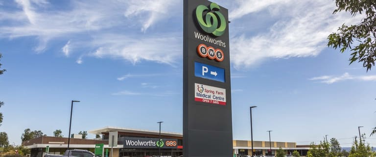 Shop & Retail commercial property for sale at Woolworths Spring Farm Shopping Centre, 254 Richardson Road Spring Farm NSW 2570