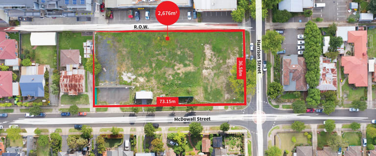 Development / Land commercial property for sale at 26-32 McDowall Street Mitcham VIC 3132