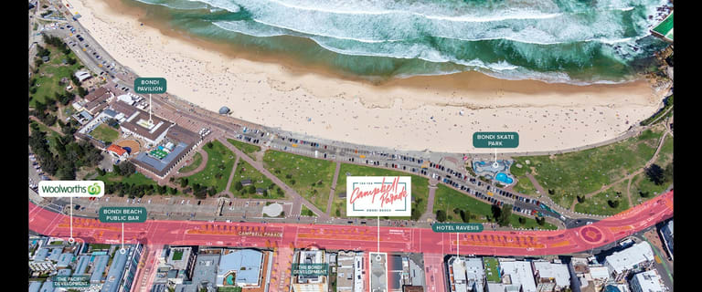 Development / Land commercial property for sale at 134-138 Campbell Parade Bondi Beach NSW 2026