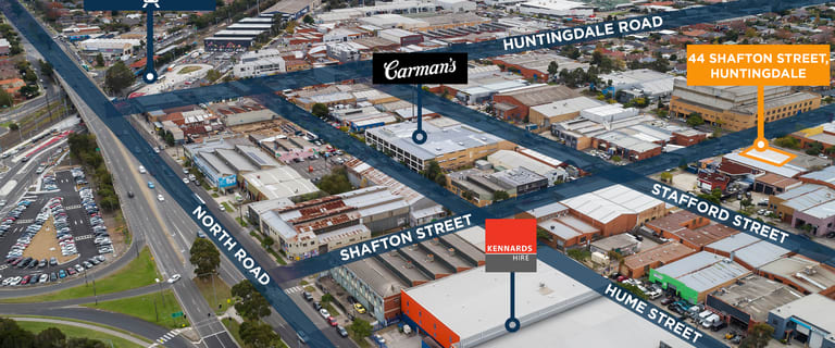 Industrial / Warehouse commercial property for sale at 44 Shafton Street Huntingdale VIC 3166