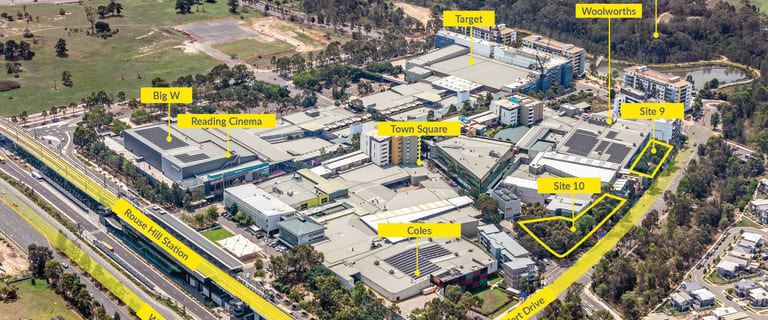 Development / Land commercial property for sale at Key Town Centre Development Sites^ Rouse Hill NSW 2155