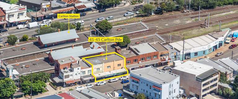 Shop & Retail commercial property sold at 41-45 Carlton Parade Carlton NSW 2218