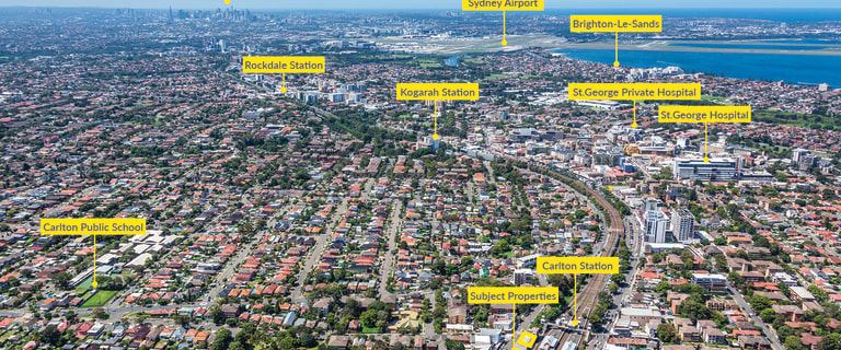 Medical / Consulting commercial property for sale at 39 & 41-45 and 53 & 55 Carlton Parade Carlton NSW 2218