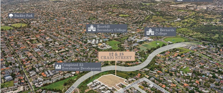 Development / Land commercial property for sale at 12 & 18 Craig Street Keilor East VIC 3033