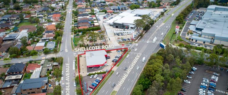 Factory, Warehouse & Industrial commercial property for sale at 119-125 Hume Highway Chullora NSW 2190