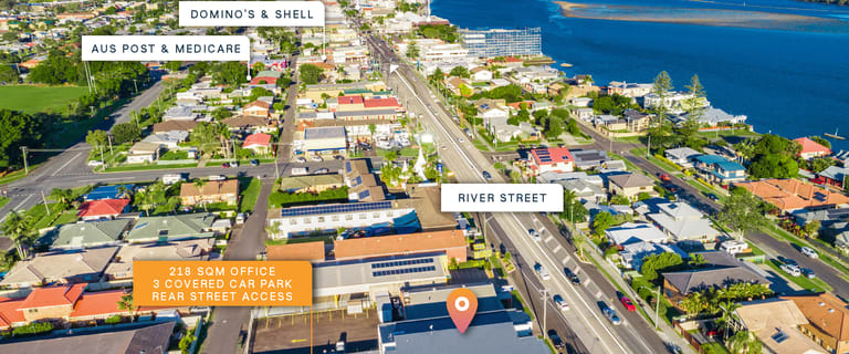 Offices commercial property sold at 1/317 River Street Ballina NSW 2478