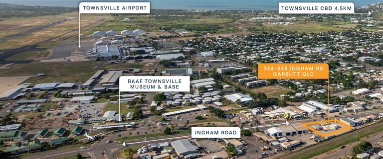 Factory, Warehouse & Industrial commercial property for sale at 344-348 Ingham Road Garbutt QLD 4814