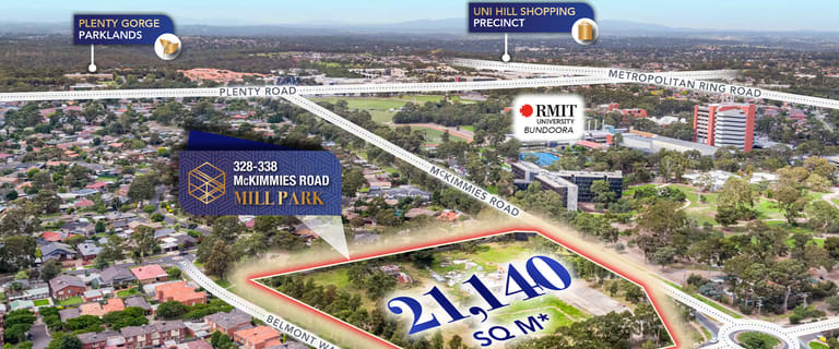 Medical / Consulting commercial property for sale at 328-338 McKimmies Road Mill Park VIC 3082