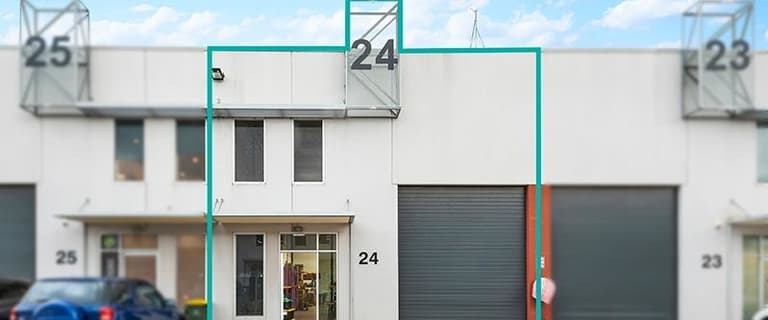Factory, Warehouse & Industrial commercial property for sale at Unit 24/44 Sparks Avenue Fairfield VIC 3078