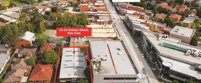 Showrooms / Bulky Goods commercial property for sale at 13-15 Station Street Kew East VIC 3102
