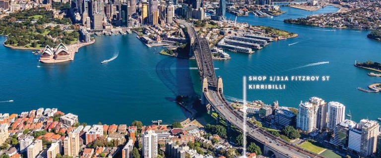 Shop & Retail commercial property for sale at 31A Fitzroy Street Kirribilli NSW 2061