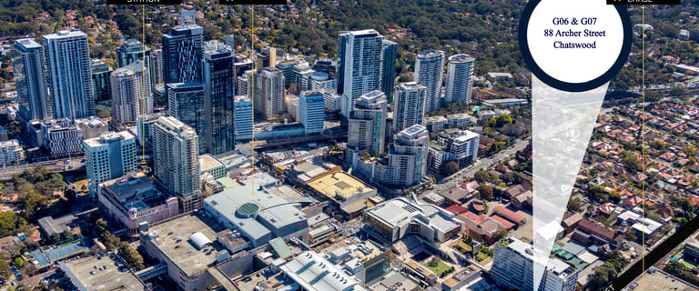 Offices commercial property for sale at G06 - G07/88 Archer Street Chatswood NSW 2067