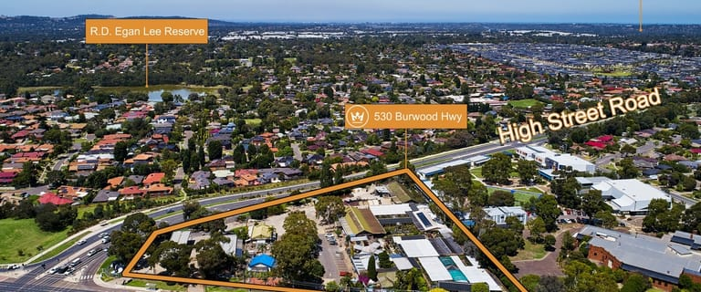 Development / Land commercial property for sale at 530-532 Burwood Highway Wantirna South VIC 3152