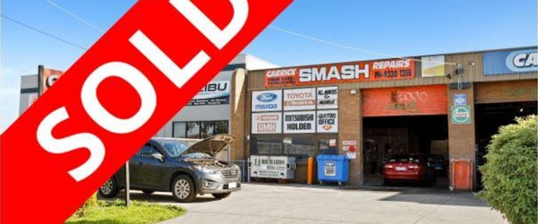 Factory, Warehouse & Industrial commercial property sold at 1/27 Carrick Drive Tullamarine VIC 3043