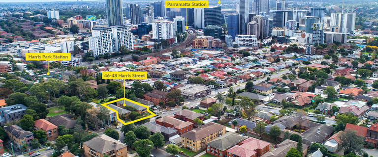 Shop & Retail commercial property for sale at 8 Units, 46-48 Harris Street Harris Park NSW 2150