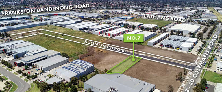 Factory, Warehouse & Industrial commercial property for sale at 7 Buontempo Road Carrum Downs VIC 3201