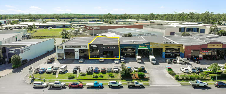 Factory, Warehouse & Industrial commercial property sold at 2/84-86 Lear Jet Drive Caboolture QLD 4510