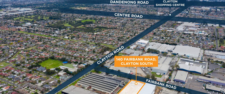 Factory, Warehouse & Industrial commercial property for lease at Units 1-24/140 Fairbank Road Clayton South VIC 3169