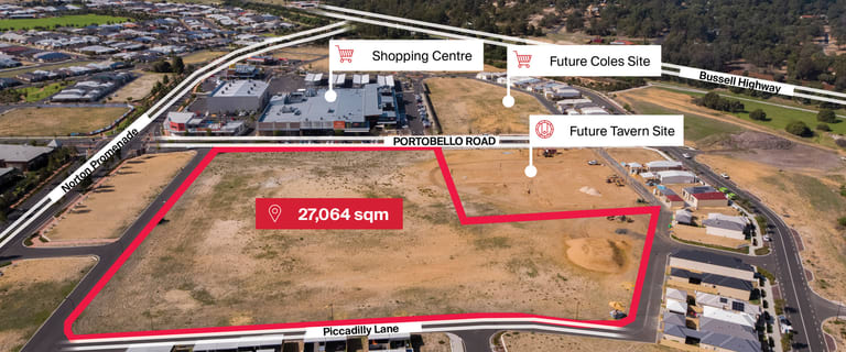 Development / Land commercial property for sale at Lot 9041 Portobello Road and Tiffany Centre Dalyellup WA 6230