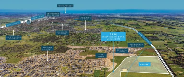 Development / Land commercial property for sale at 555G Donnybrook Road Mickleham VIC 3064