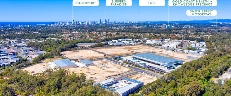 Factory, Warehouse & Industrial commercial property for sale at 1 Cnr Captain Cook Drive and Logistics Place Arundel QLD 4214
