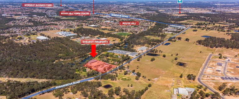 Development / Land commercial property for sale at 316 Annangrove Road Rouse Hill NSW 2155