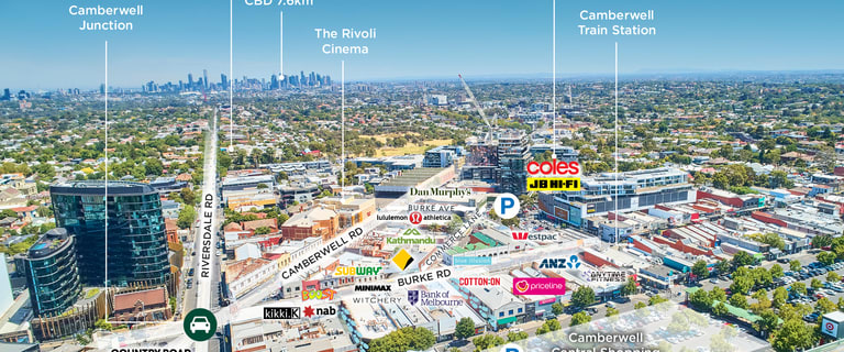 Shop & Retail commercial property for sale at 345, 347 & 347a Riversdale Road (Corner of Symonds Street) Hawthorn East VIC 3123