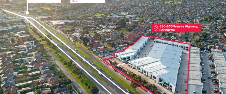 Factory, Warehouse & Industrial commercial property for sale at 830 - 850 Princes Highway Springvale VIC 3171