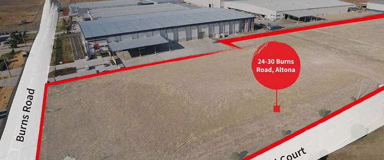 Factory, Warehouse & Industrial commercial property for sale at 24 - 30 Burns Road Altona VIC 3018