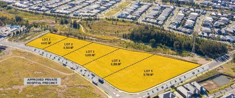 Development / Land commercial property for sale at Gregory Hills NSW 2557