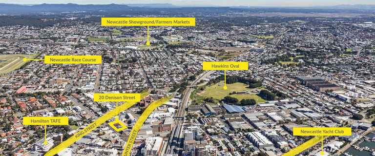 Development / Land commercial property for sale at 20 Denison Street Newcastle West NSW 2302