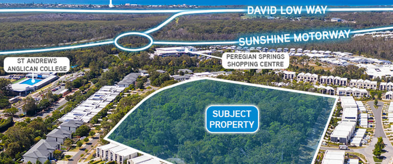 Development / Land commercial property for sale at 5 Pavilion Drive Peregian Springs QLD 4573