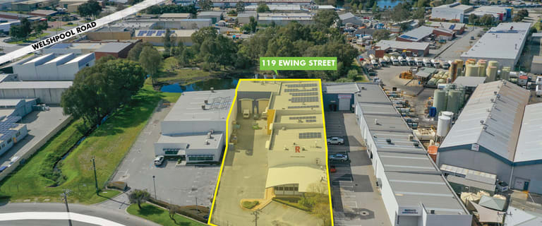 Factory, Warehouse & Industrial commercial property for sale at 119 Ewing Street Welshpool WA 6106