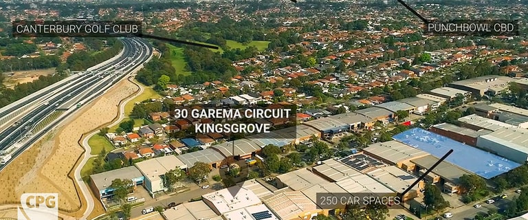 Factory, Warehouse & Industrial commercial property for sale at 30 Garema Circuit Kingsgrove NSW 2208