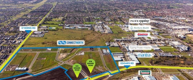 Factory, Warehouse & Industrial commercial property for sale at 572 Edgars Road Epping VIC 3076